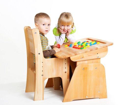 Детские парты - особенности выбора с Raspashonka.ua