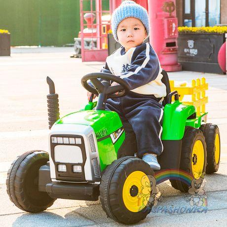 Детский трактор John Deere XM 611 ЗЕЛЕНЫЙ