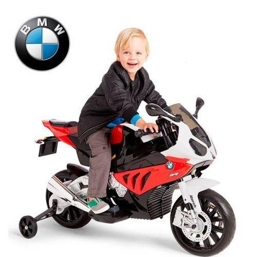 Детский мотоцикл BMW JT 528 E-3 КРАСНЫЙ фото 2