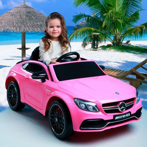 Детский электромобиль Mercedes-Benz YA588 фото 2