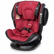 Автокресло ME 1045 EVOLUTION 360° Royal Red — КРАСНОЕ
